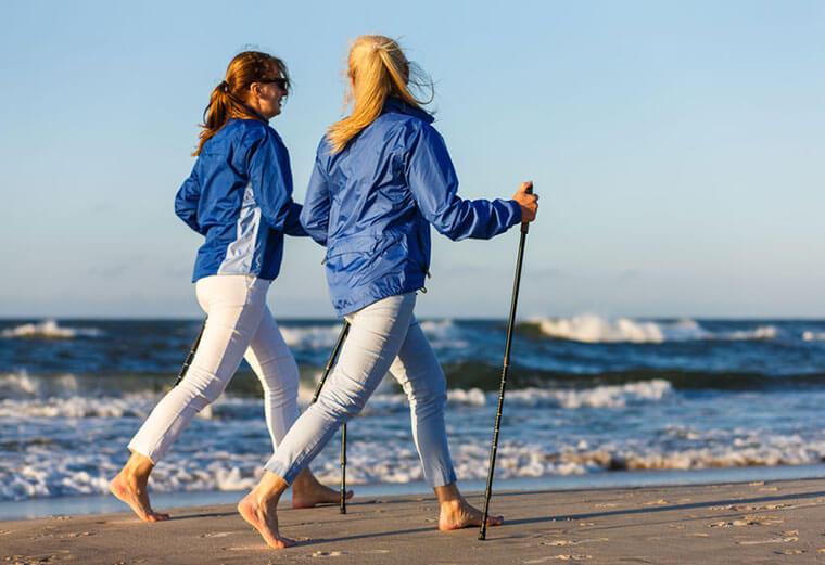 """""""Nordic Walking"""": Ponte en marcha y obtén beneficios para tu salud"""